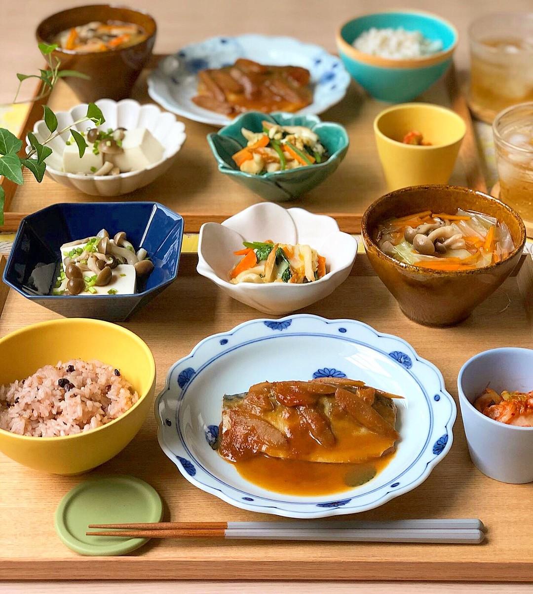 献立 サバの味噌煮