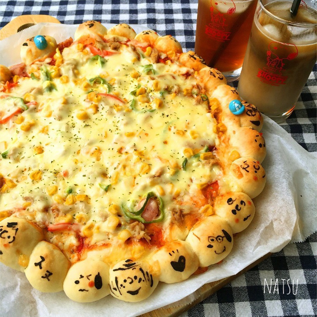 献立 ピザ